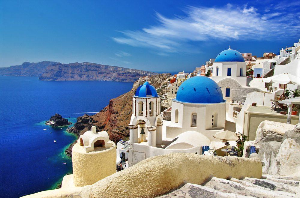 Santorini, Greece |  Bucket List Travelbeautiful places on Earth travel bucket list instagram