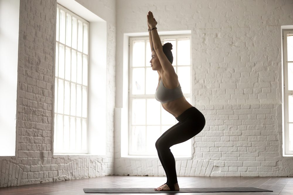 Chair Pose | Best Morning Yoga Poses For Beginners | Life360 Tips
