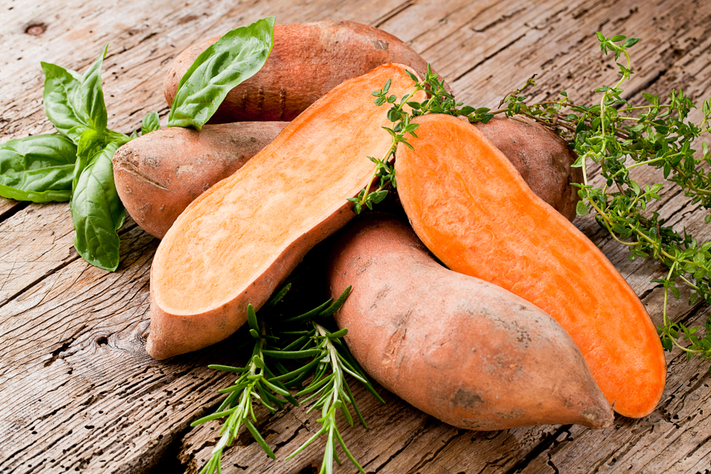 Sweet Potatoes | The Top 10 Foods That Burn Calories | fat burning foods what to eat to lose belly fat what to eat after workout fat loss nutriments customer service mct oil fatty fish pre workout snack for weight loss keto bodytone