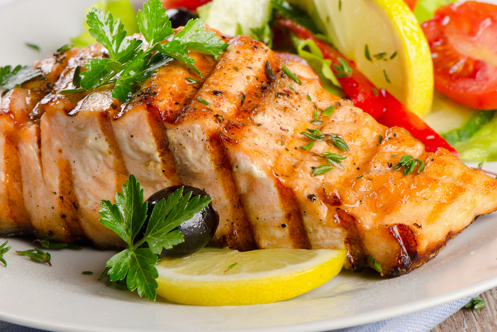 Salmon | The Top 10 Foods That Burn Calories | fat burning foods what to eat to lose belly fat what to eat after workout fat loss nutriments customer service mct oil fatty fish pre workout snack for weight loss keto bodytone