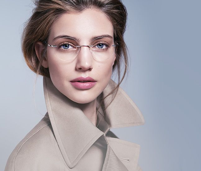 Rimless glasses | 10 Surprising Items That Make Women More Attractive To Men | Life360 Tips