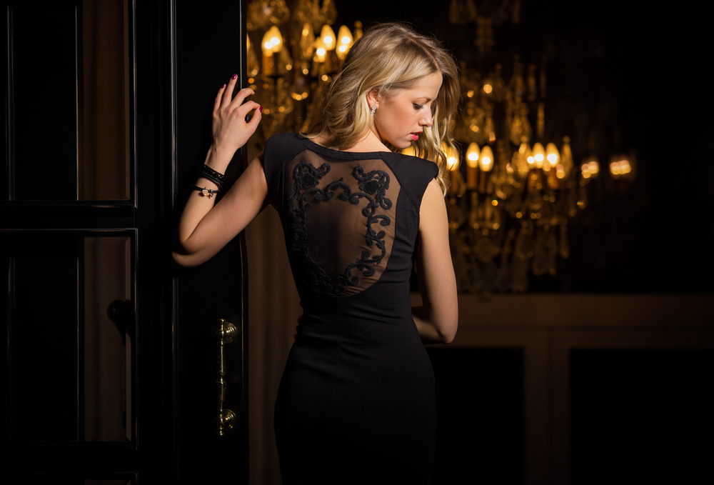 A little black dress | 10 Surprising Items That Make Women More Attractive To Men | Life360 Tips